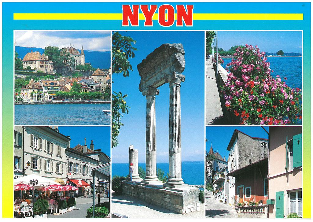 Postcards 17242 Nyon VD