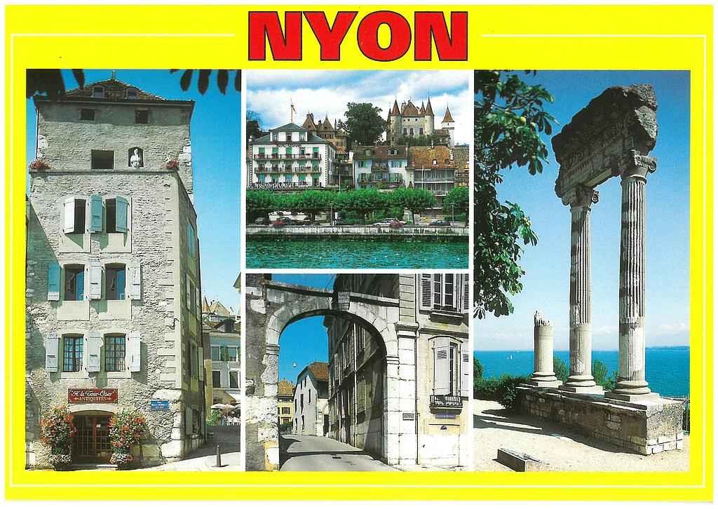 Postcards 19921 Nyon VD