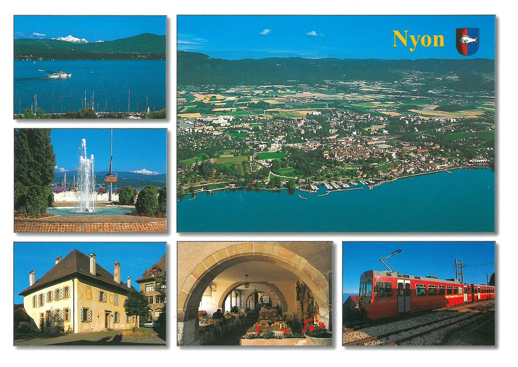 Postcards 21820 Nyon VD