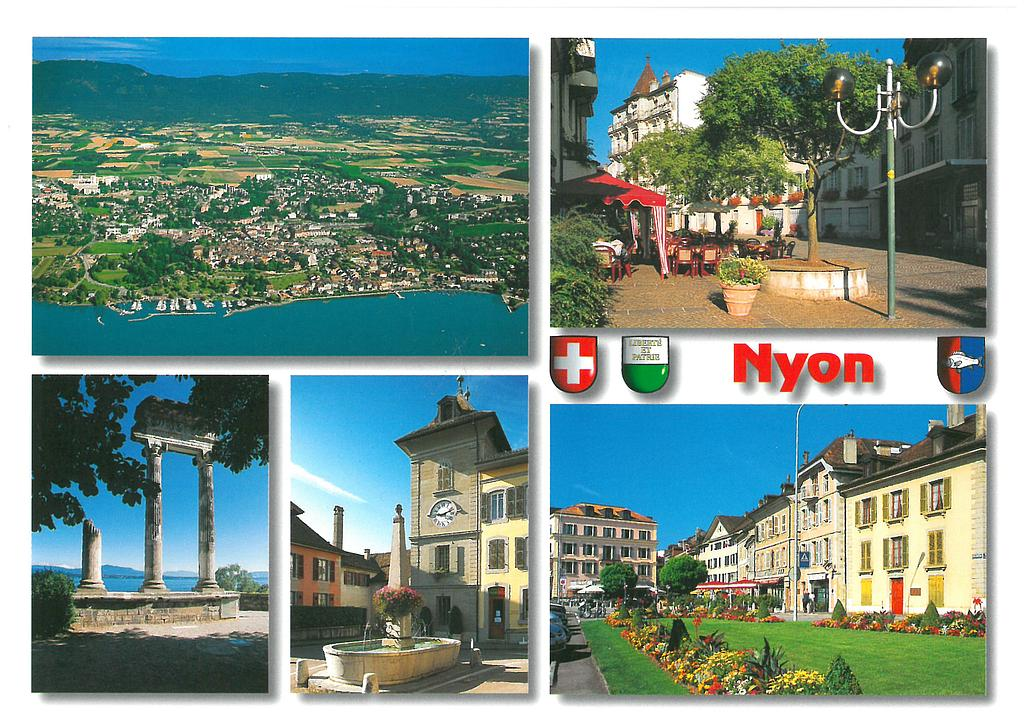Postcards 21822 Nyon VD