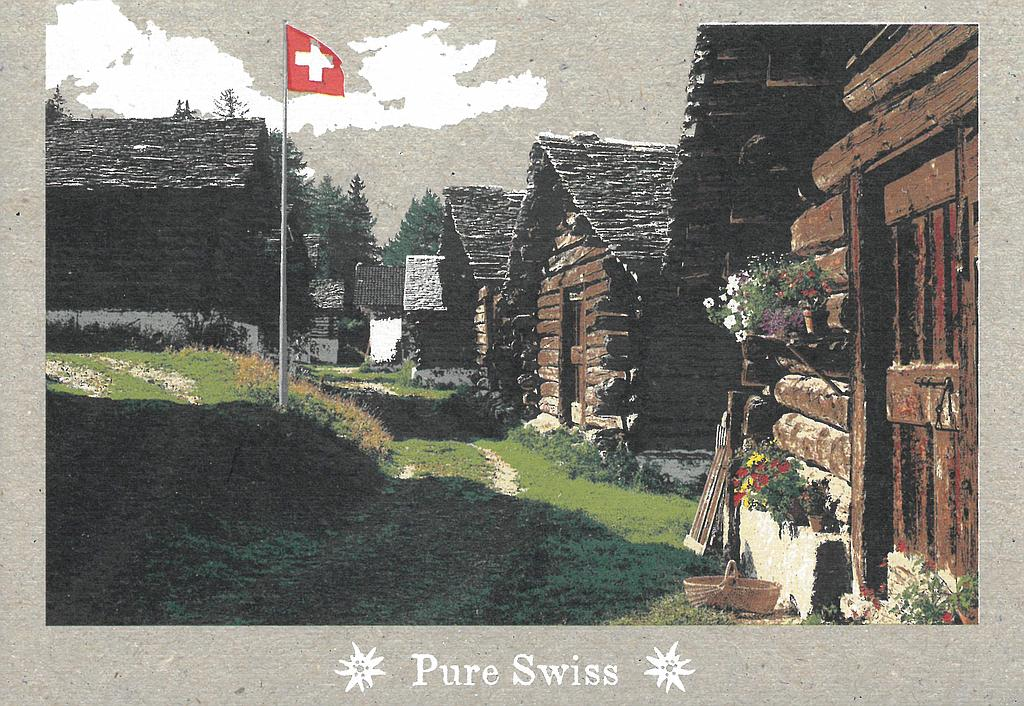 Postcards 51120 Pure Swiss Chalets