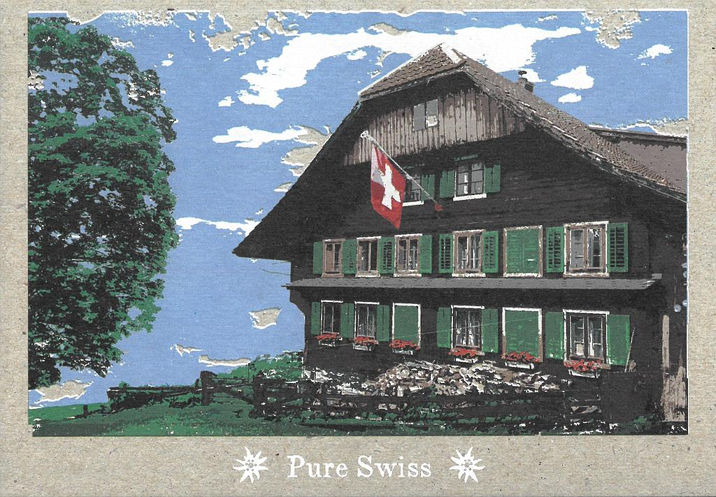Postcards 51122 Pure Swiss auberge de montagne