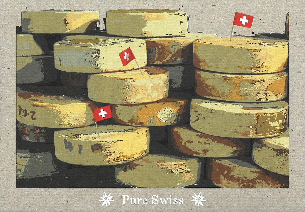 Postcards 51126 Pure Swiss Fromage