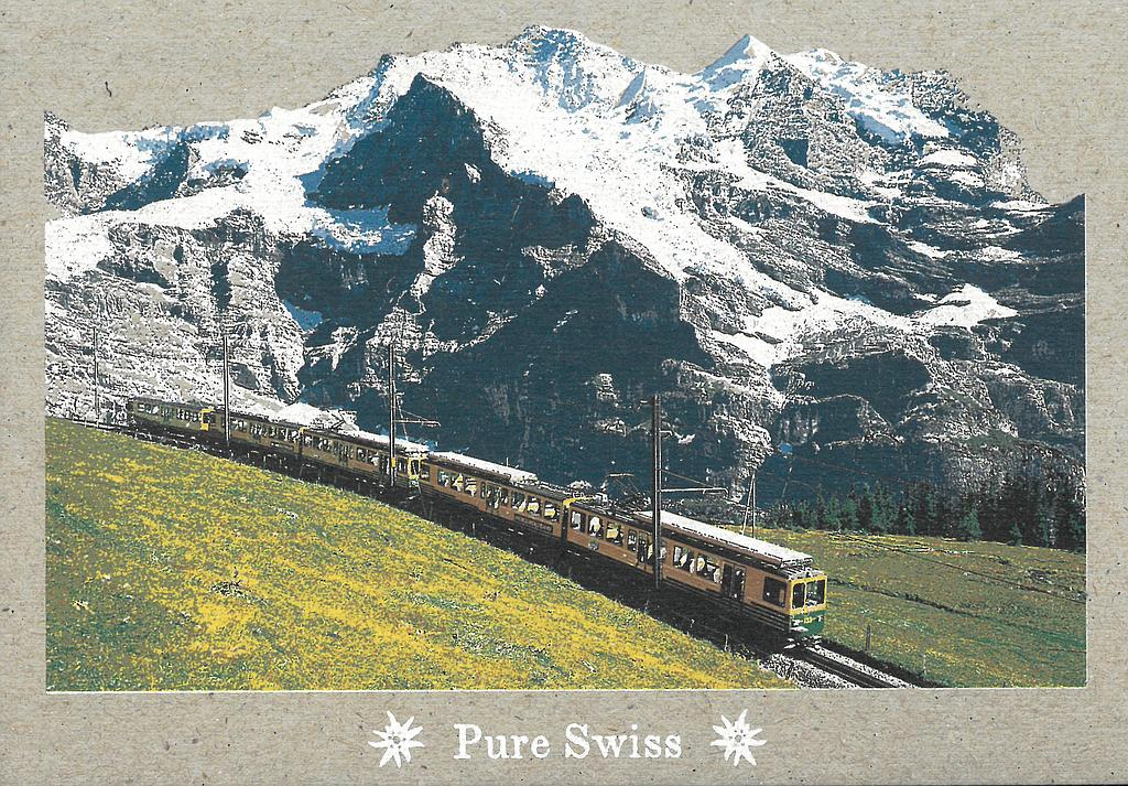 Postcards 51119 Pure Swiss WAB Jungfrau
