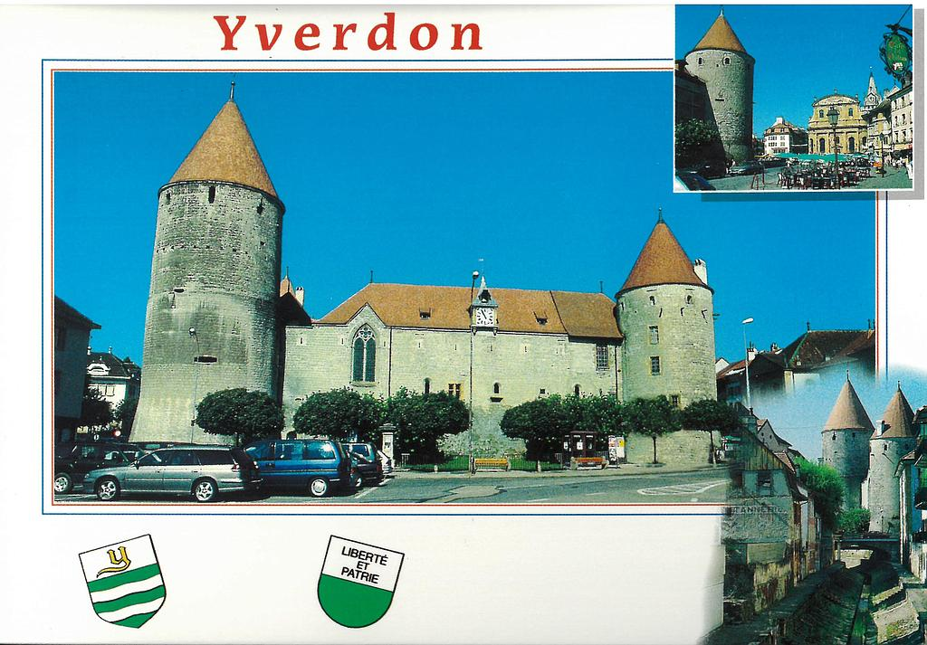 Postcards 11825 Yverdon
