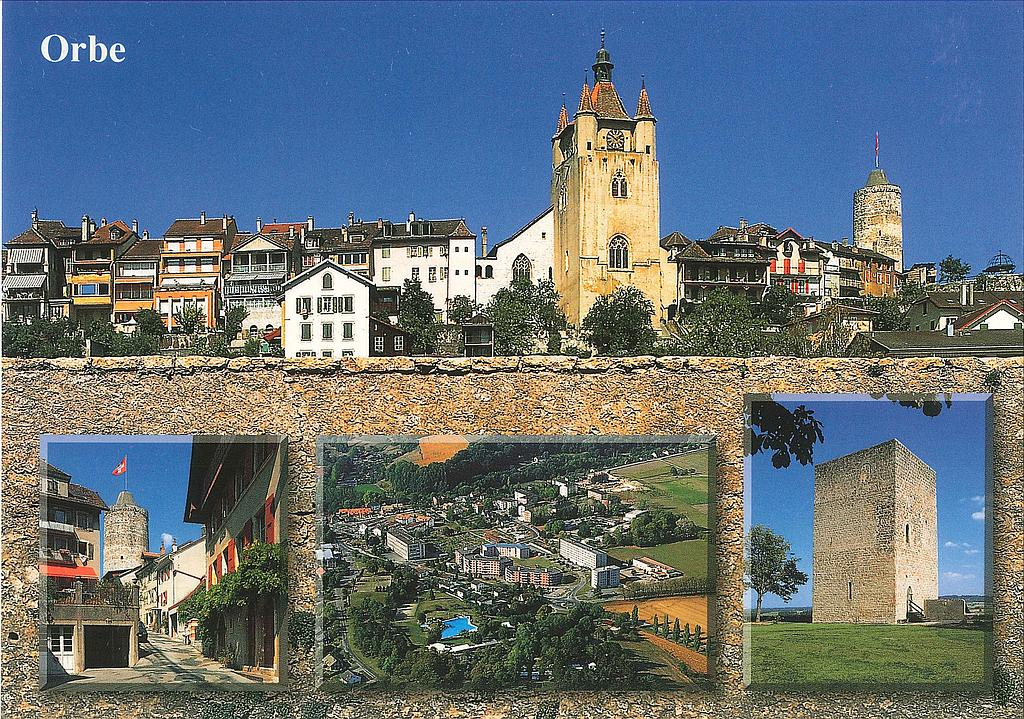 Postcards 23072 Orbe
