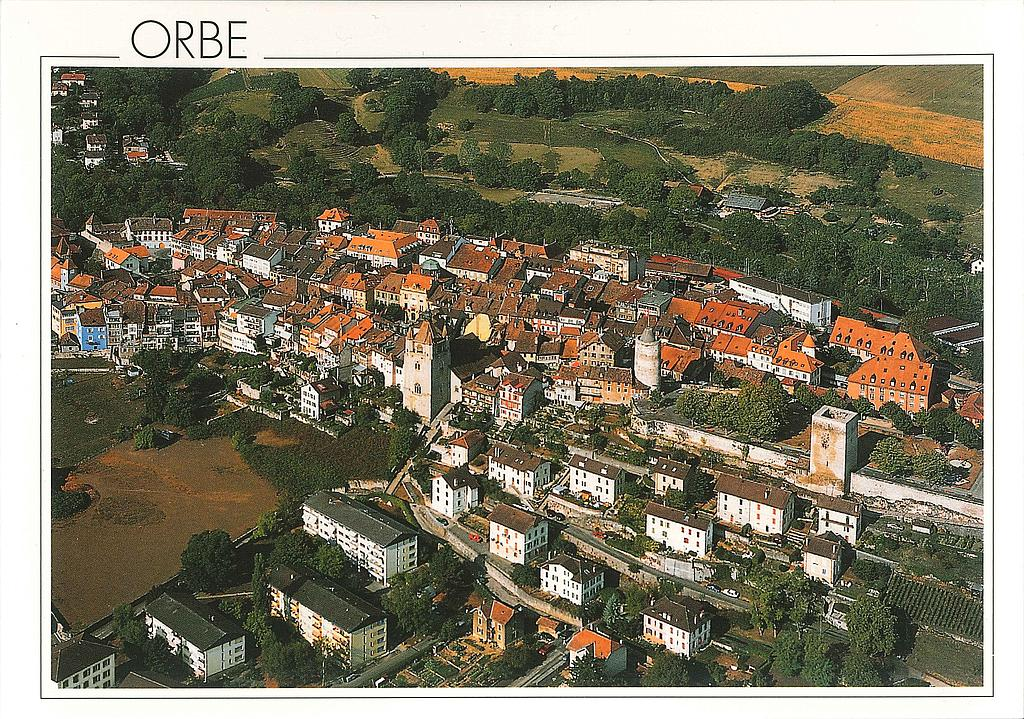 Postcards 23073 Orbe, ancienne ville