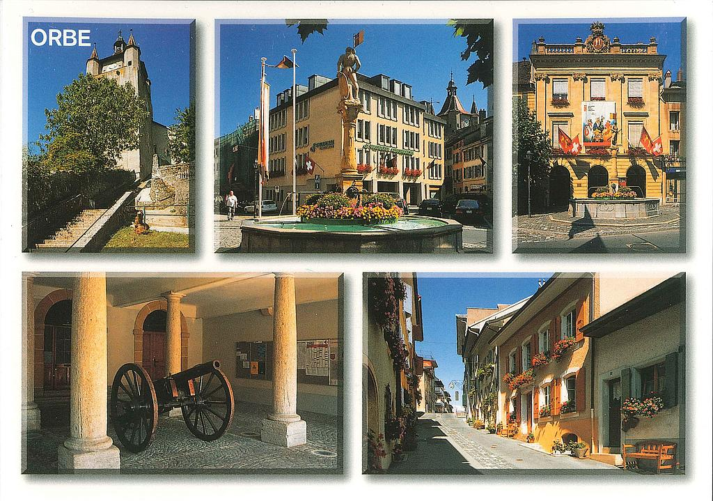Postcards 23074 Orbe, ancienne ville