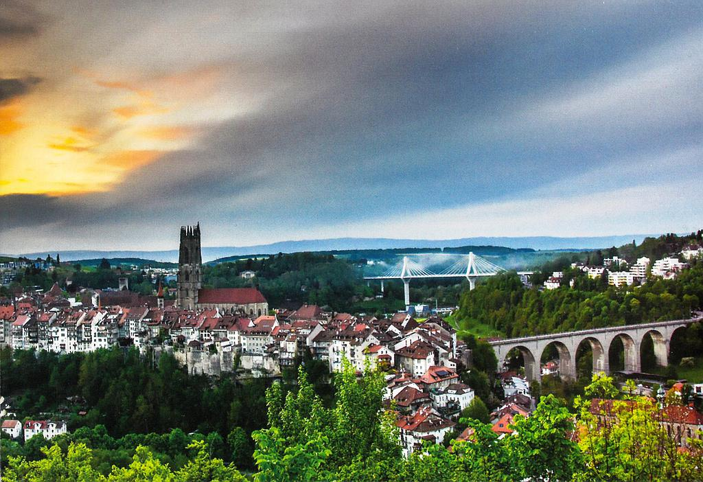 Postcards 12235 Fribourg