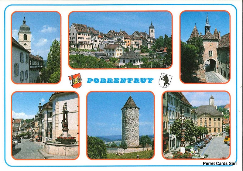 Postcards 20709 Porrentruy