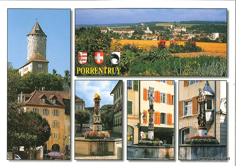 Postcards 21788 Porrentruy
