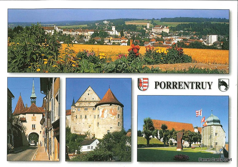 Postcards 21796 Porrentruy