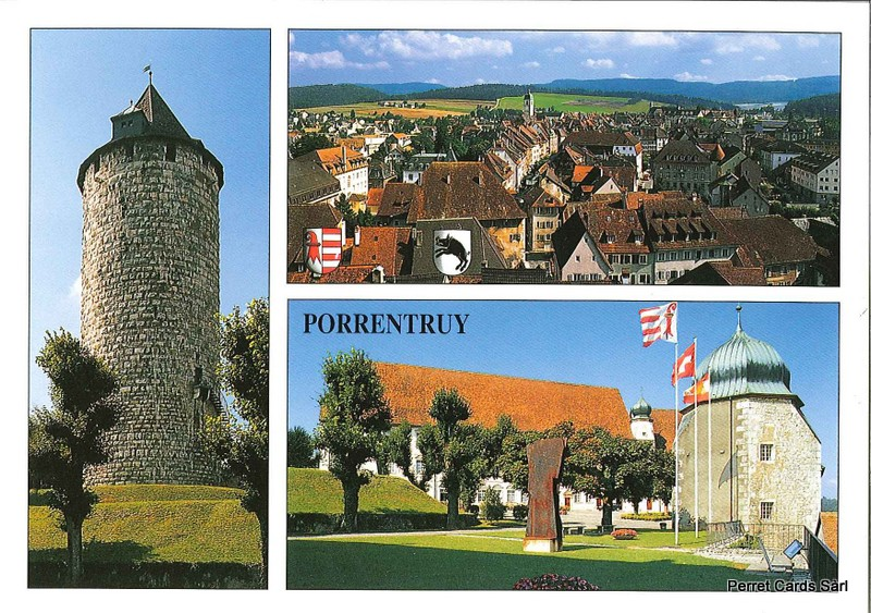 Postcards 21797 Porrentruy