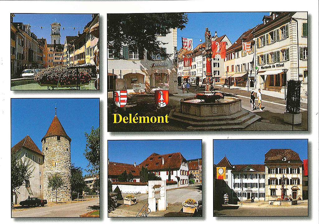 Postcards 21799 Delémont