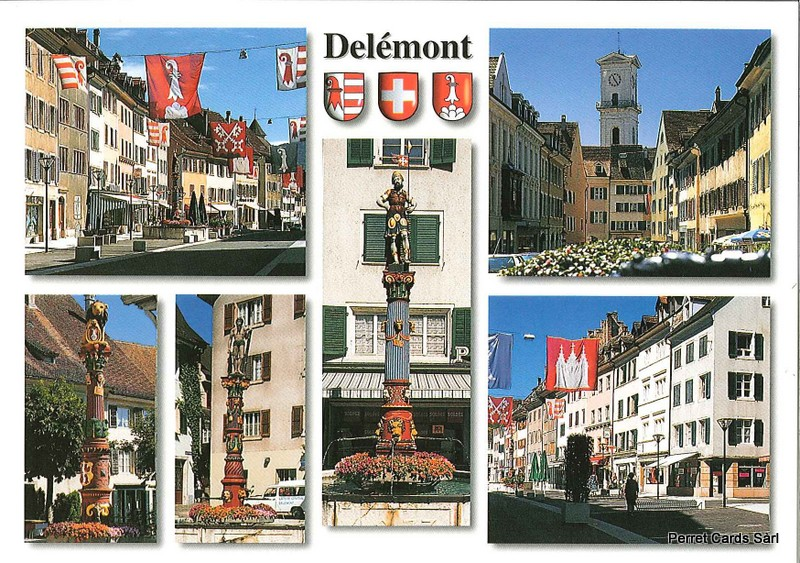 Postcards 21800 Delémont