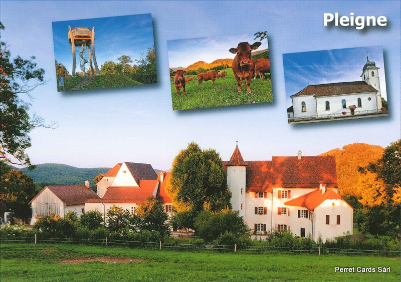 Postcards 26781 Pleigne