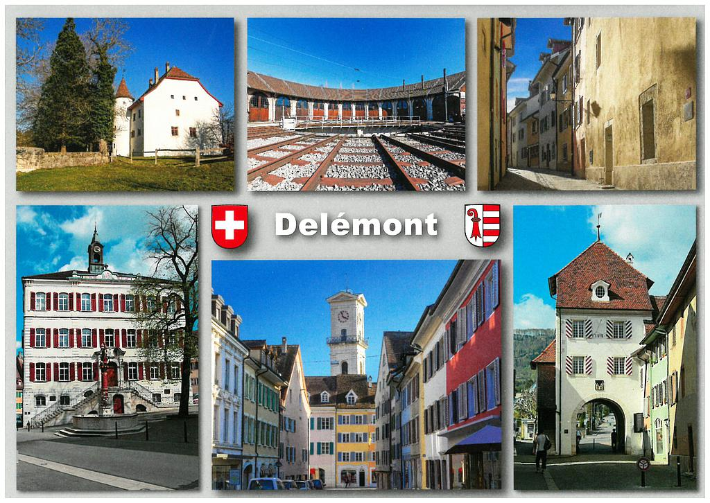 Postcards 27548 Delémont