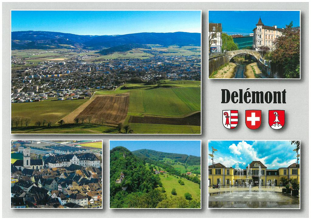 Postcards 28624 Delémont