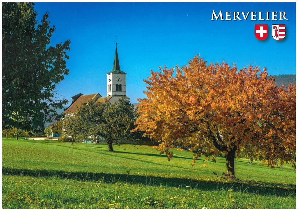 Postcards 28784 Mervelier