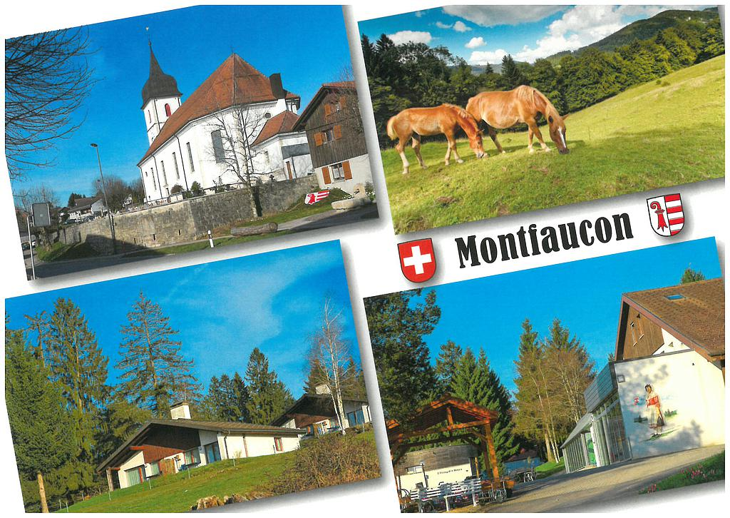 Postcards 28631 Montfaucon