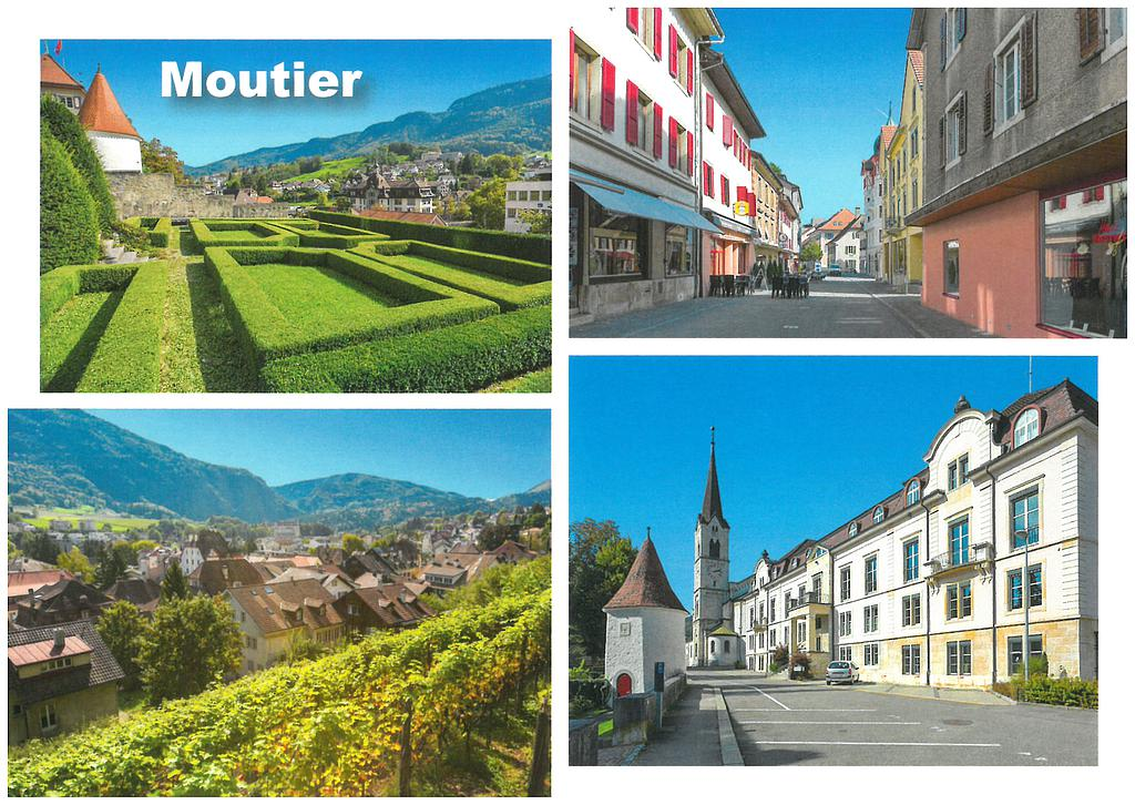 Postcards 28627 Moutier