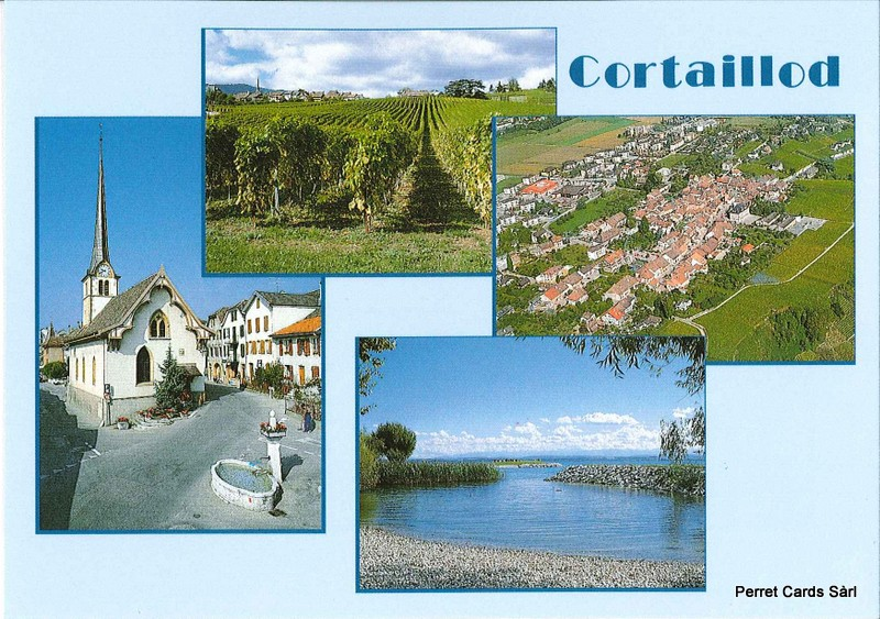 Postcards 23620 Cortaillod
