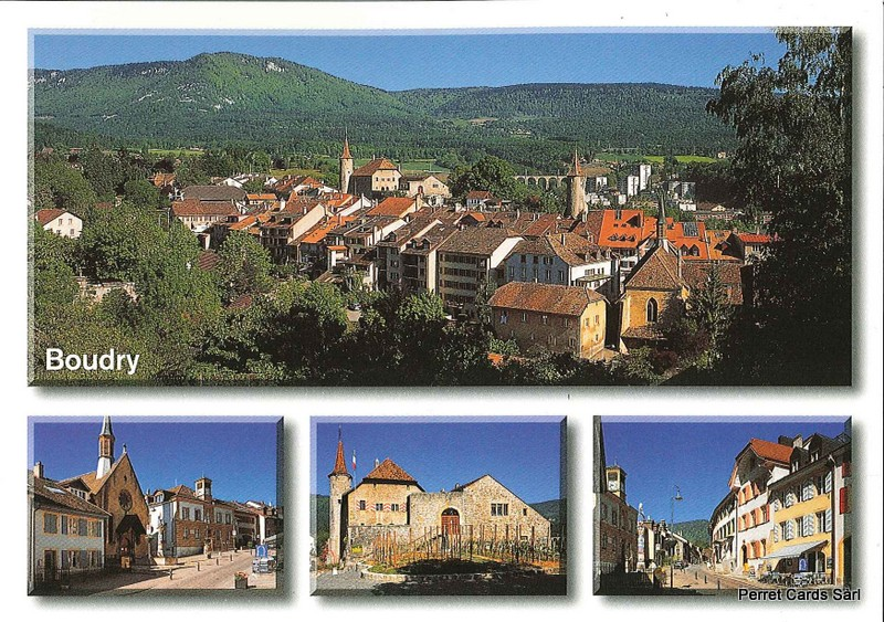 Postcards 23651 Boudry