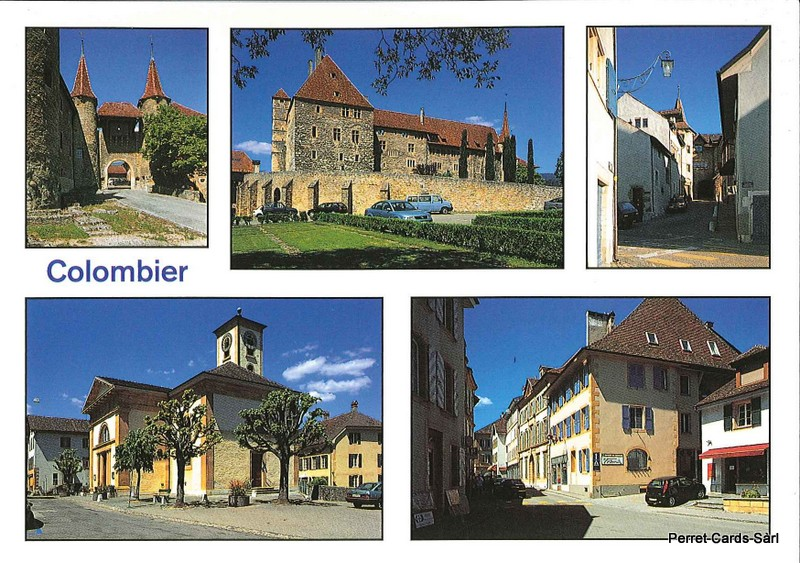Postcards 23744 Colombier