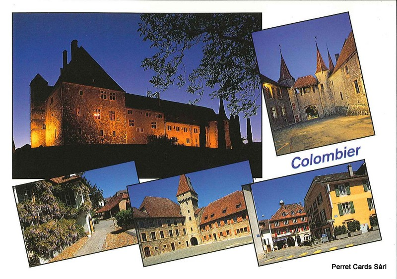 Postcards 23745 Colombier