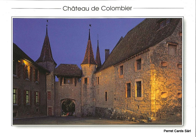 Postcards 23746 Colombier, Le Château