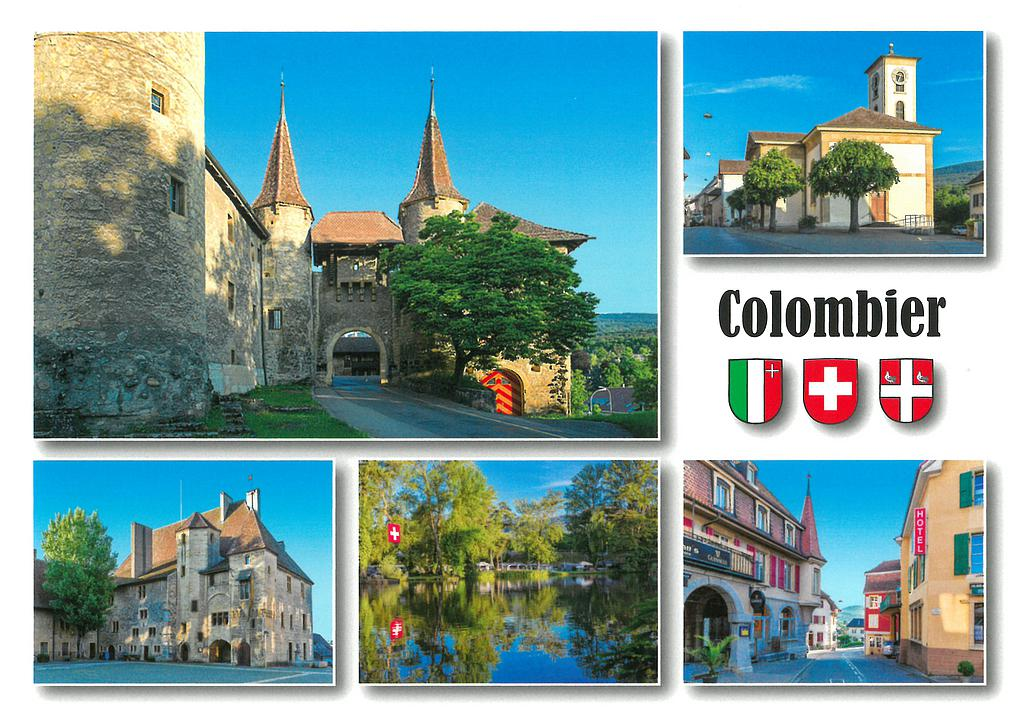 Postcards 28623 Colombier