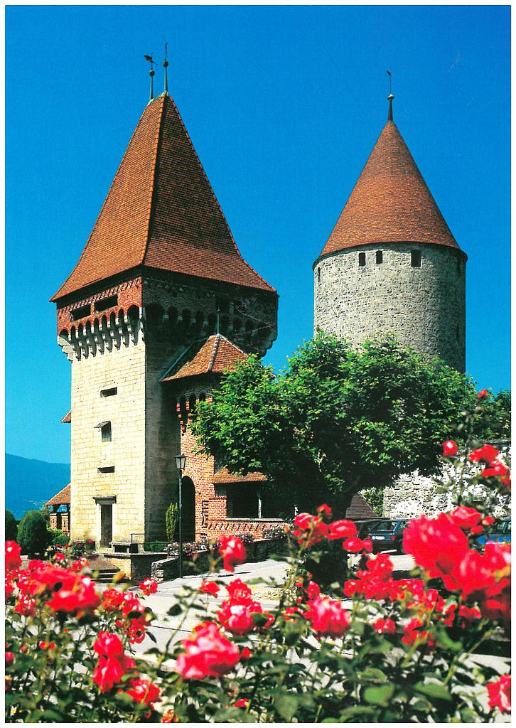 Postcards 22007 Estavayer-le-Lac, le Chateau