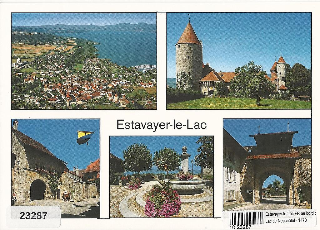 Postcards 23287 Estavayer-le-Lac