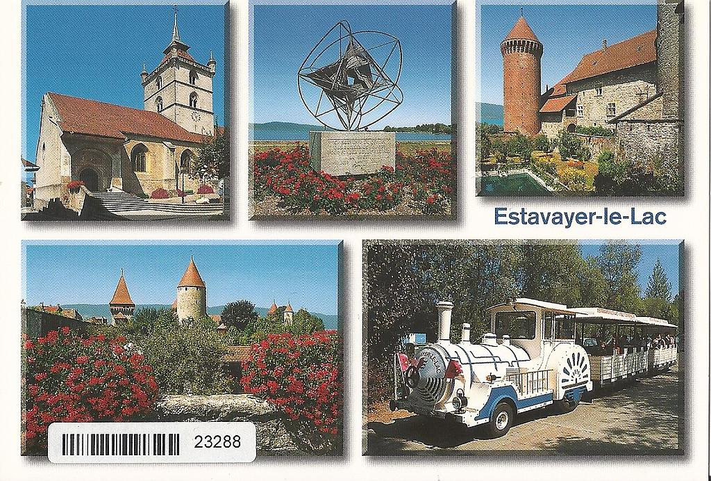 Postcards 23288 Estavayer-le-Lac