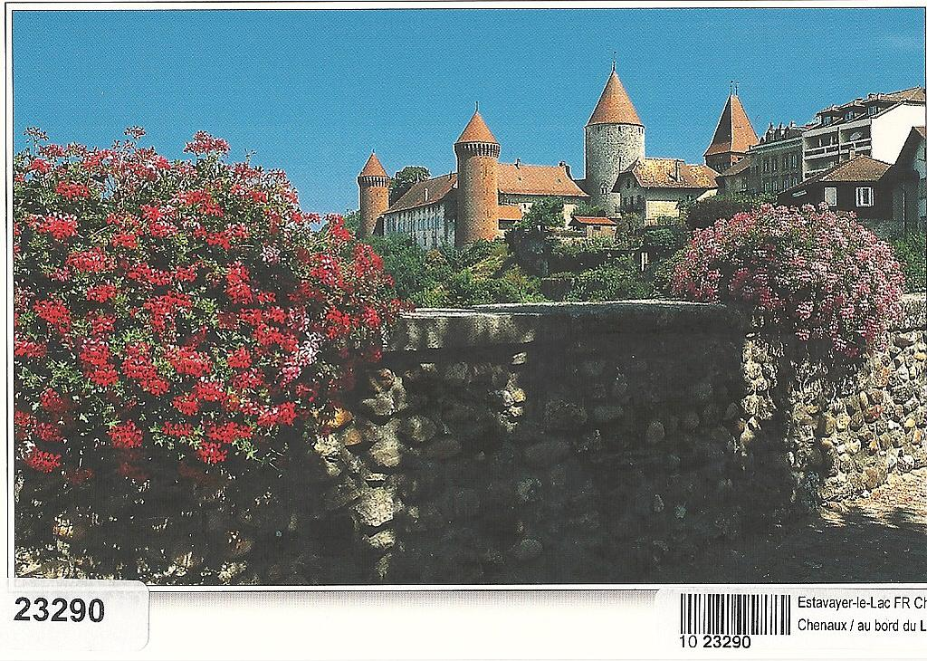 Postcards 23290 Estavayer-le-Lac