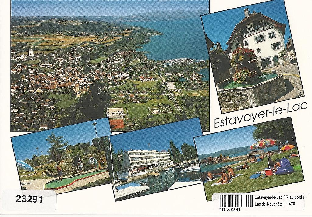 Postcards 23291 Estavayer-le-Lac