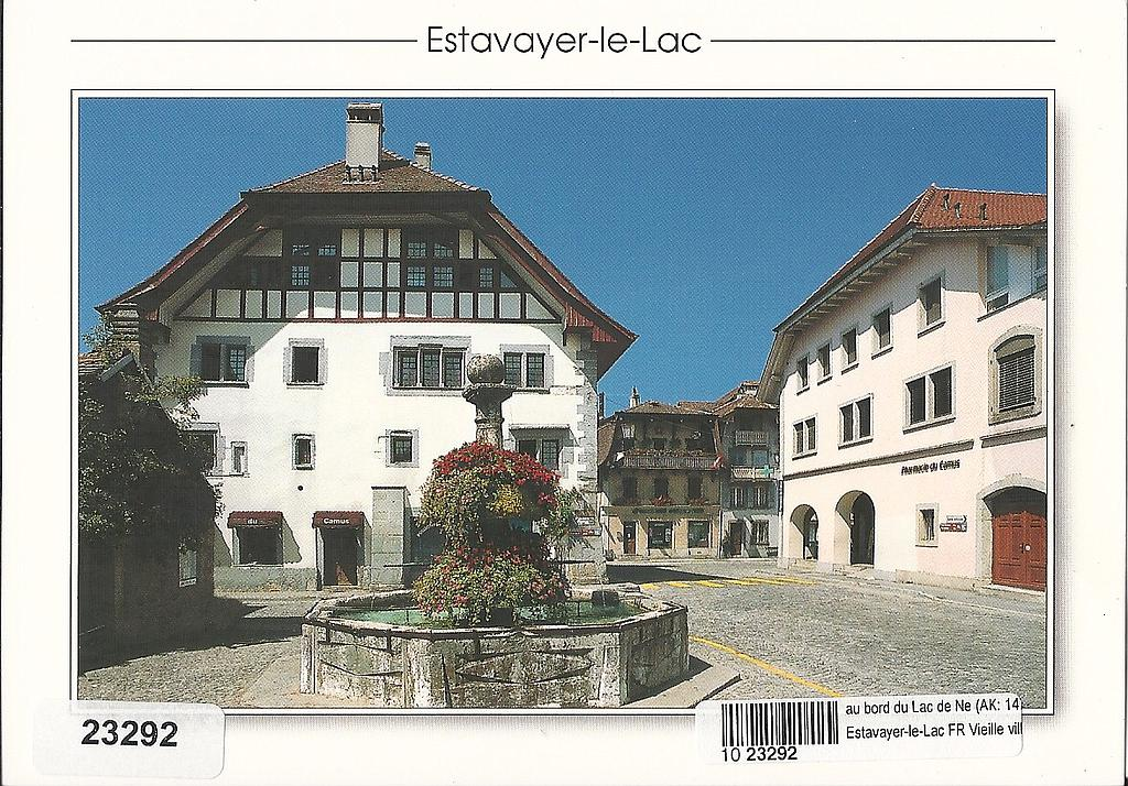 Postcards 23292 Estavayer-le-Lac