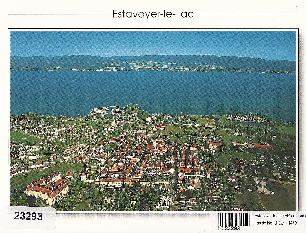 Postcards 23293 Estavayer-le-Lac