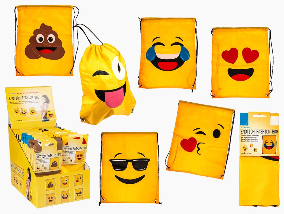 "Display 24 sacs 7.90 fashion ""Emojis"" (6 suj.)"