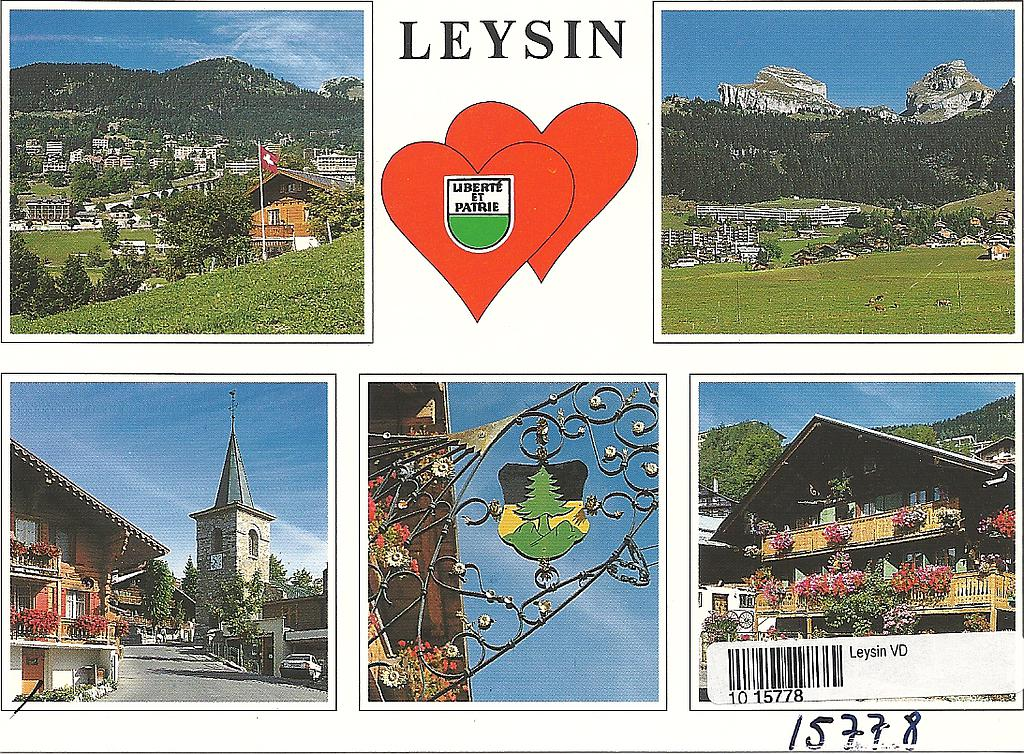 Postcards 15778 Leysin