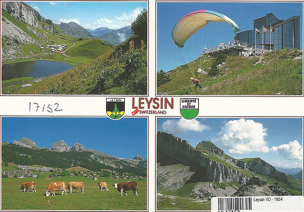 Postcards 17152 Leysin