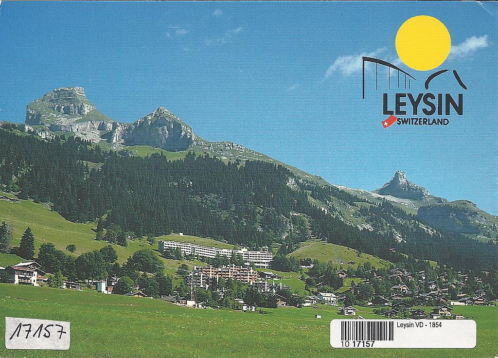Postcards 17157 Leysin