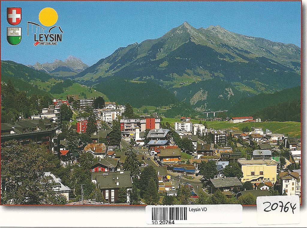 Postcards 20764 Leysin