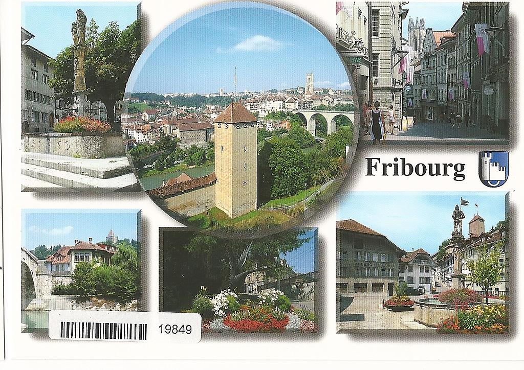 Postcards 19849 Fribourg