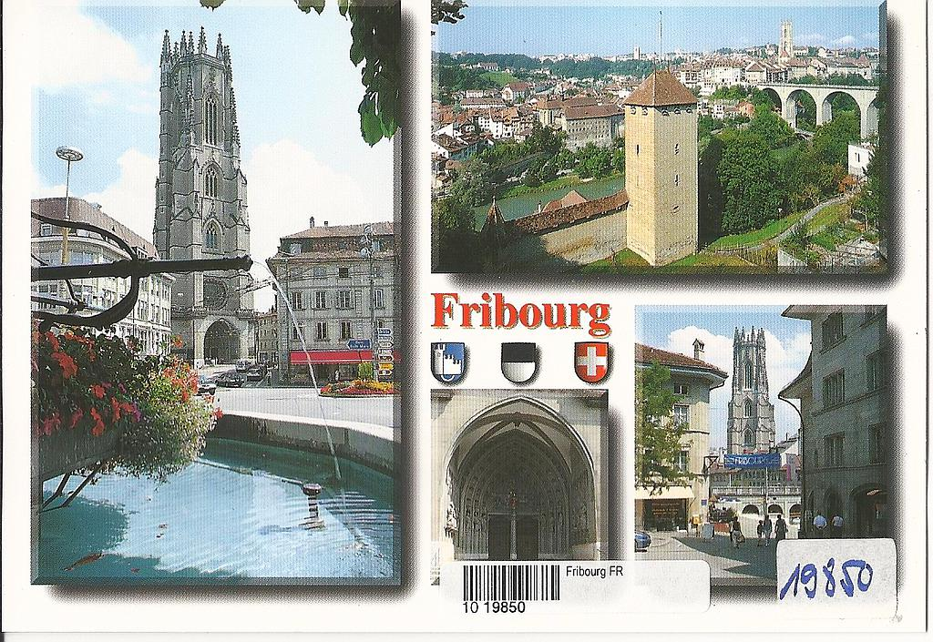 Postcards 19850 Fribourg
