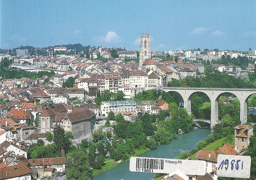 Postcards 19851 Fribourg