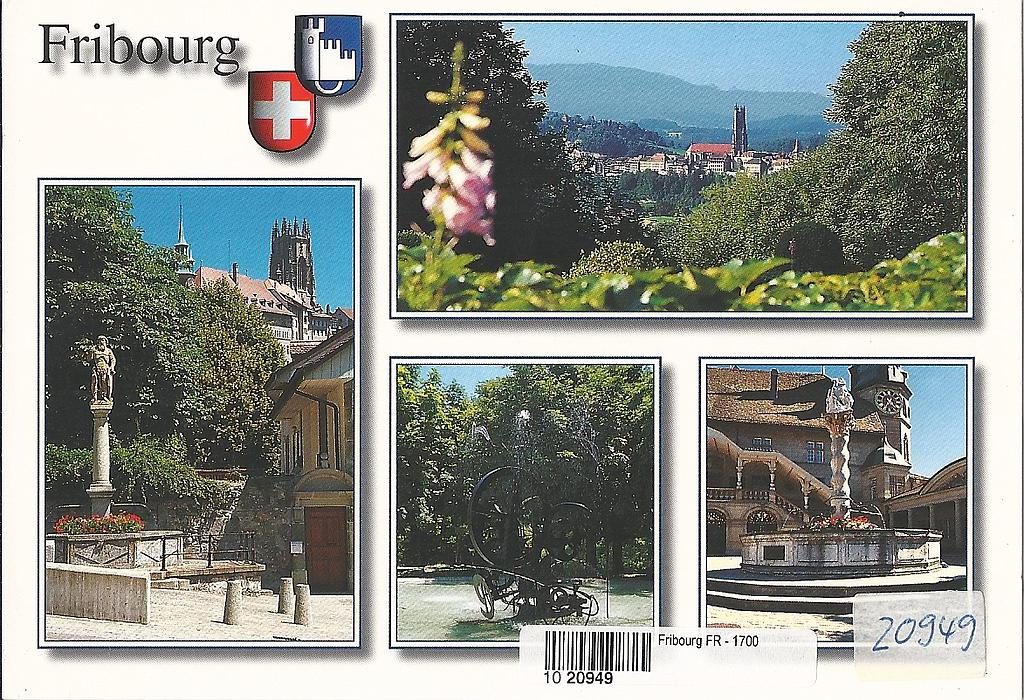 Postcards 20949 Fribourg