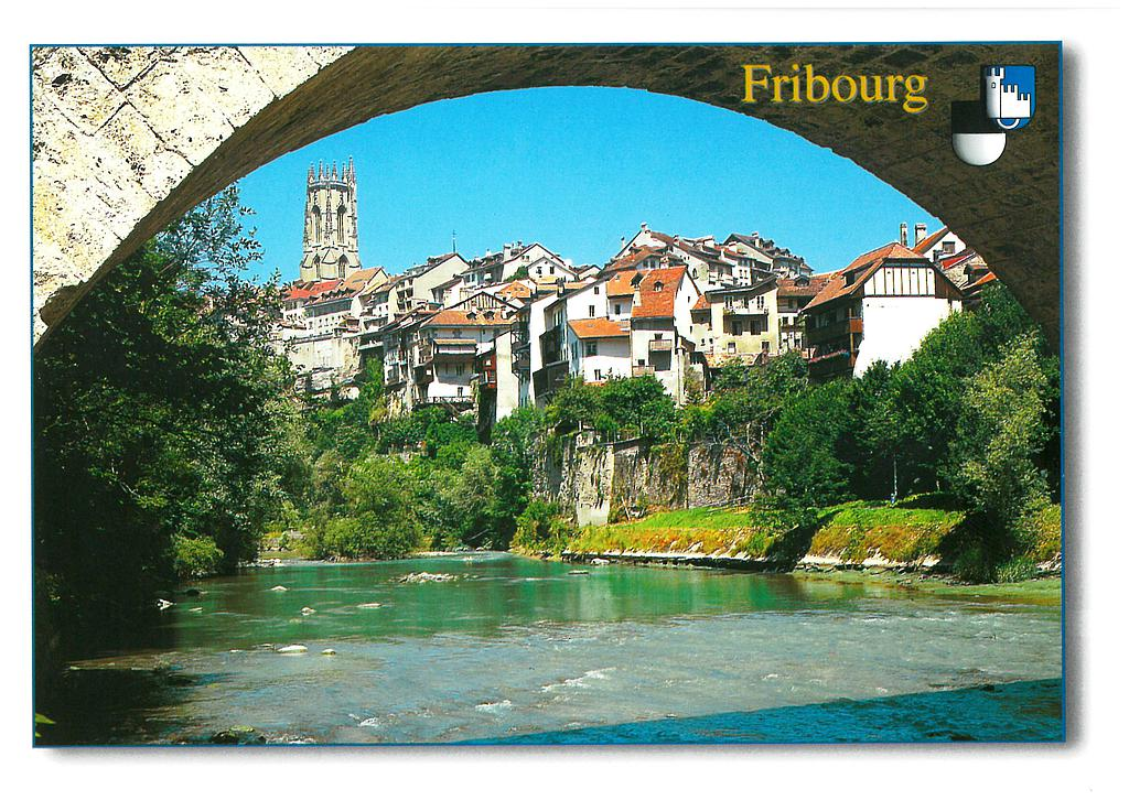 Postcards 20950 Fribourg