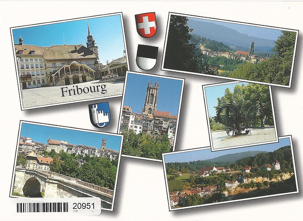 Postcards 20951 Fribourg