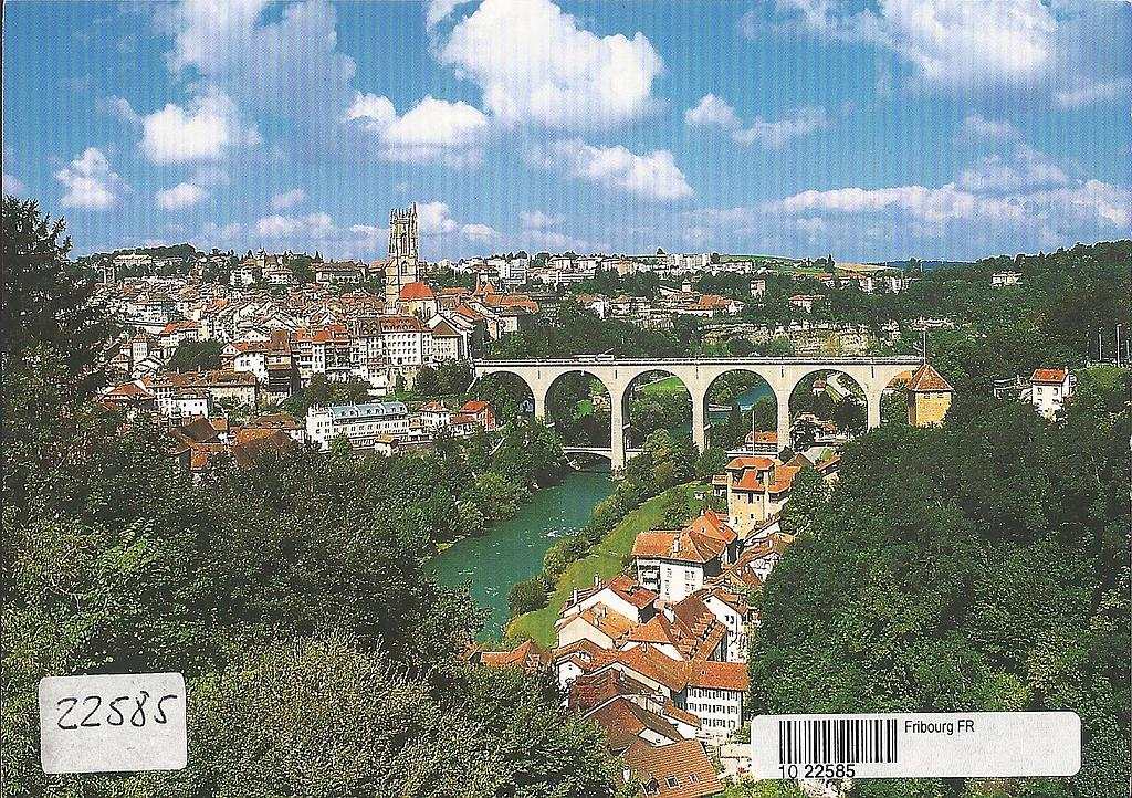 Postcards 22585 Fribourg